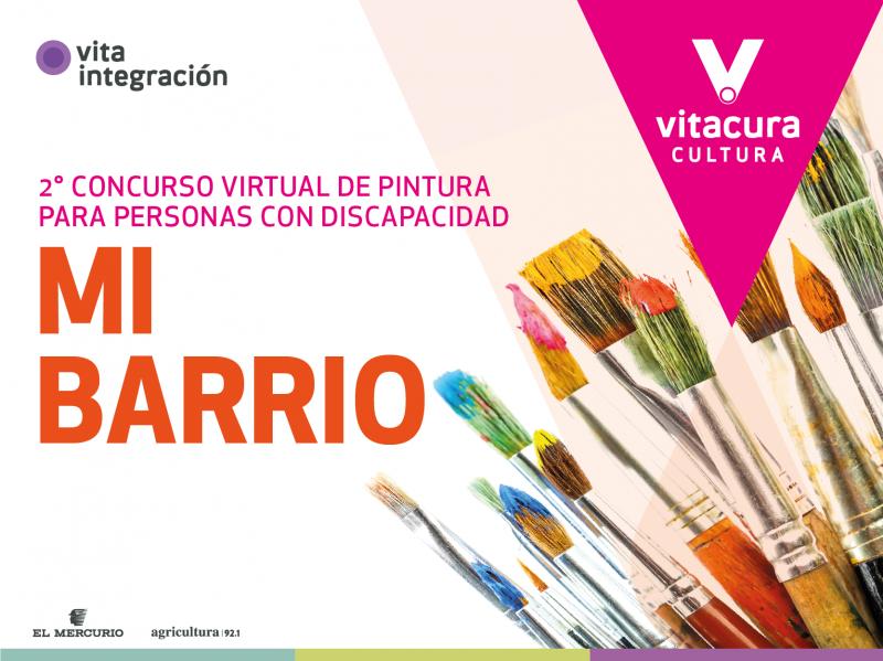 ¡No te quedes fuera del concurso anual de Pintura para Personas con Discapacidad de Vitaintegración!